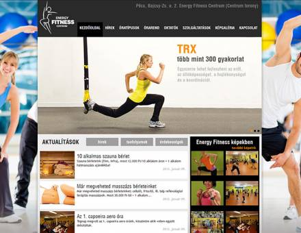 e-fitnesscentrum.hu honlapkészítés