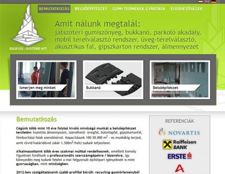 www.egoflex.hu három nyelvű weboldal tervezése