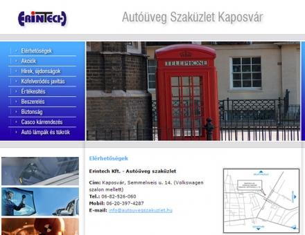 Erintech Kft. - Autóüveg szaküzlet - Kaposvár