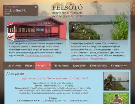 Felsoto.hu weboldal megújítás (re-design)