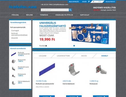 Fembutor.com mobil barát webshop készítés