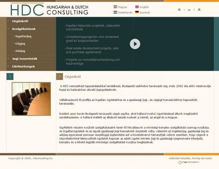 hdconsulting.hu re-design