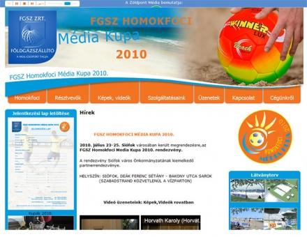 homokfoci.hu - FGSZ Homokfoci Média Kupa 2010