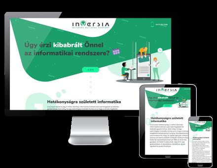 Inversia.hu - Informatikai hálózatok tervezése, kivitelezése - reszponzív honlapkészítés