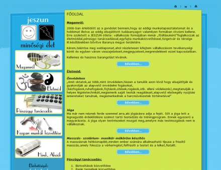 jeszun.hu - jóga, önvédelem, masszázs, pénzügyi tanácsadás