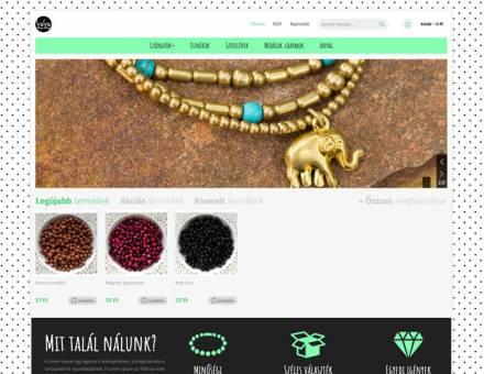 Kreativkellekekwebaruhaz.hu - kreatív kellékek webáruházának elkészítése