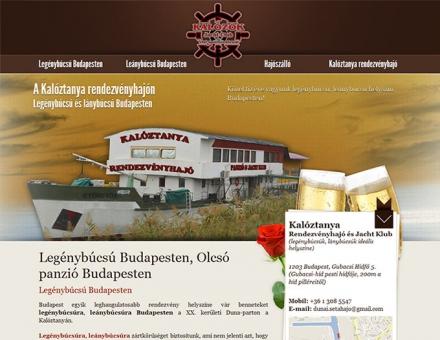 legenybucsu-budapesten.hu weboldal készítése