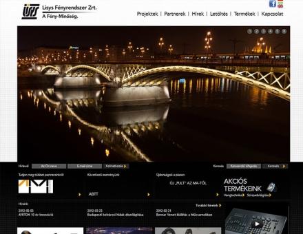 lisys.hu weboldal megújítása
