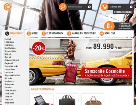 Macropolis.hu webshop készítés