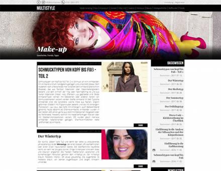 Multistyle.eu - reszponzív divatblog készítés