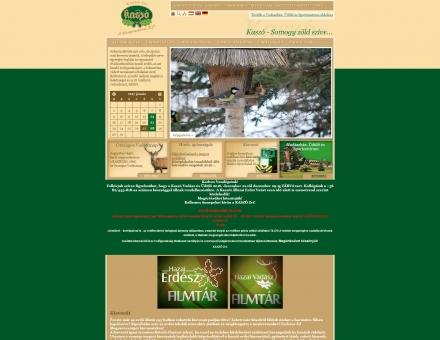 kaszort.hu weboldalának megújítása