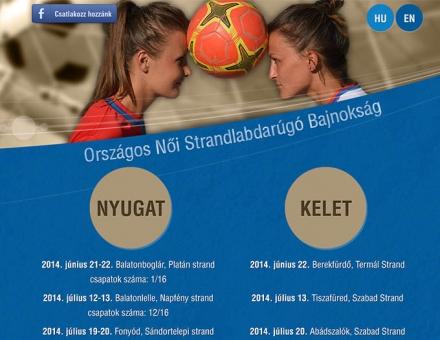 noistrandfoci.hu weblap elkészítése