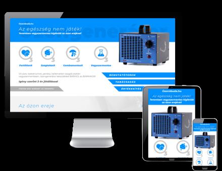 Ozonobuda.hu - Ózonos fertőtlenítés, ózongenerátor termékek - reszponzív honlapkészítés