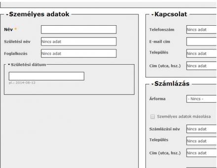 Panarom.hu online napló kozmetikus kezelői rendszer programozása