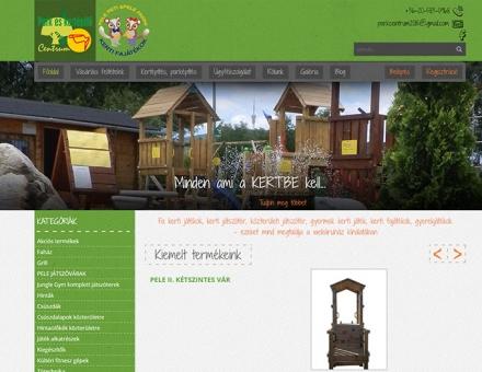 Park és Kertépítő Centrum webáruház