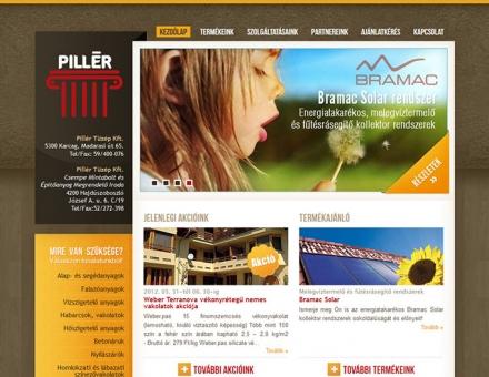 pillertuzep.hu honlap készítés