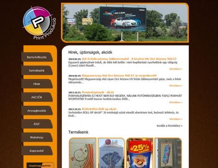 printprodukcio.hu re-design