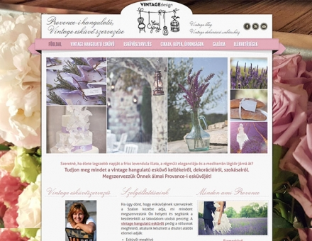 Provenceeskuvo.hu bemutatkozó weboldal készítés