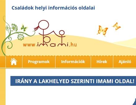 Imami.hu weboldalak megújítása