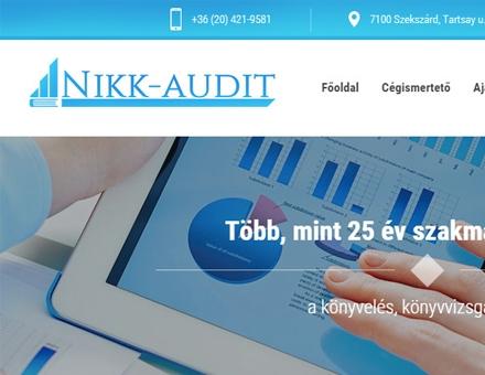 Nikkaudit.hu kkv weboldal készítés
