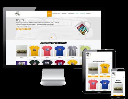 Volanshop.hu reszponzív webáruház készítése