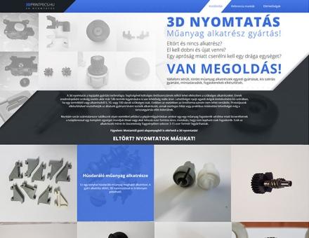 3dprintpecs.hu reszponzív honlap készítés
