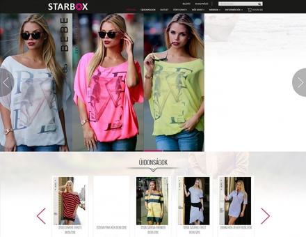 Starboxdivat.hu reszponzív divatruha webáruház