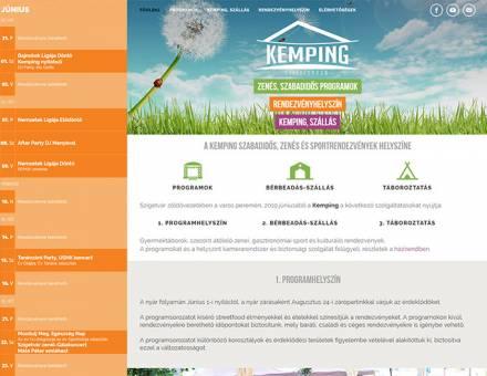 Szigetvaron.com - A kemping Szabadidős, zenés és sportrendezvények helyszíne - Reszponzív honlapkészítés