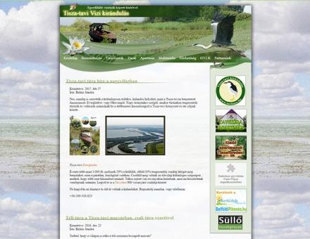 Tiszatavi Vizitúrák - Egyedül álló vízitúrák képzett kísérővel