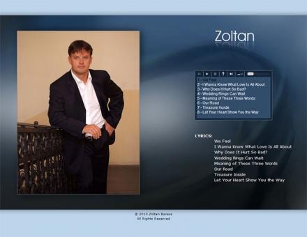 zoltansmusic.com weboldal