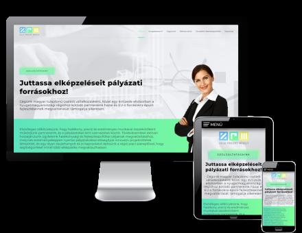 Zalaiprojektmuhely.hu - Pályázatírás - reszponzív honlapkészítés