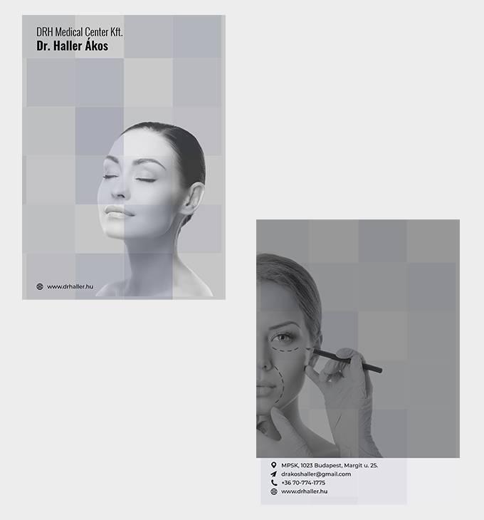Dr Haller - a4 mappa