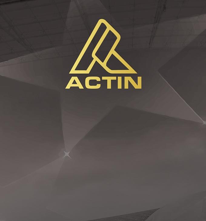 Actin sport felszerelések - szórólap készítés