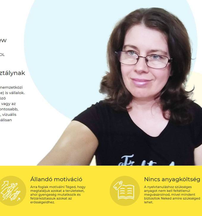 Angol-tanar.org - Angol tanár Székesfehérváron és online is - reszponzív honlapkészítés