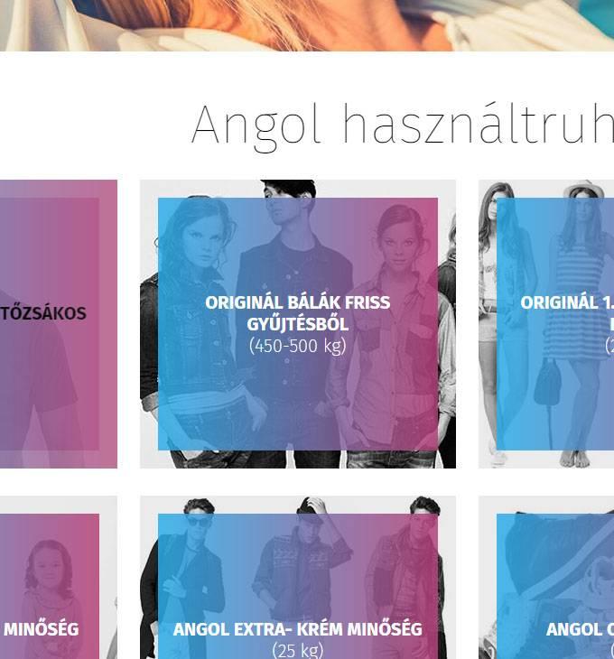 8daf572906 Angolhasznaltruhanagyker.hu - angol bálás használt ruha nagykereskedés  reszponzív honlapjának elkészítése