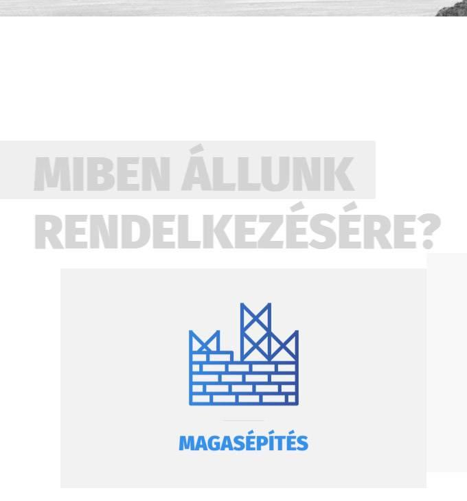 Aquahid.hu - magasépítés, lakóépületek - mobil barát honlapkészítés
