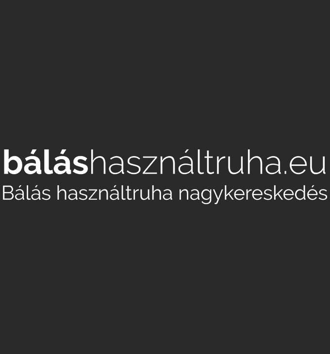 Balashasznaltruha.eu logó készítés