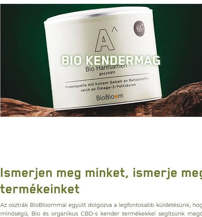 Best-life.hu - Bio, organikus kender termékek, bio cbd olaj, bio cbd kender - reszponzív webáruház készítés