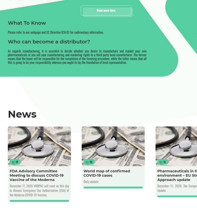 Drugauthorization.hu - Gyógyszer engedélyeztetés - reszponzív honlapkészítés