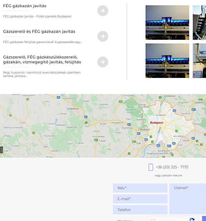 Gazszerelesbudapest.hu - Gázszerelő Budapest, Fég gázkészülék szerelő, javítás - reszponzív honlapkészítés