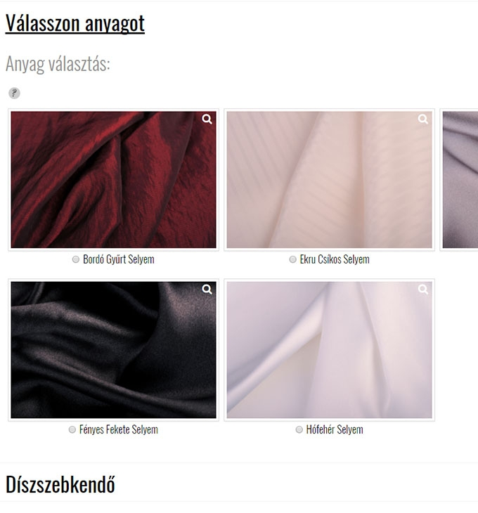 Gregorytailoring.com személyre szabott alkalmi ruha reszponzív webáruház készítés
