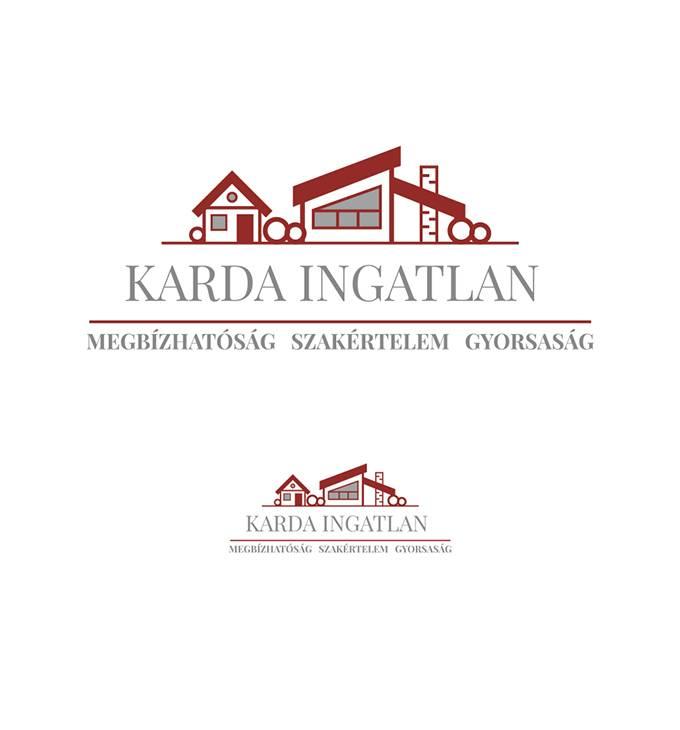 Karda Ingatlan - Logó készítés