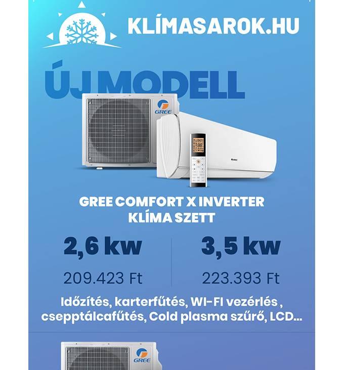 Klimasarok.hu - LA4 méretű szórólap tervezése