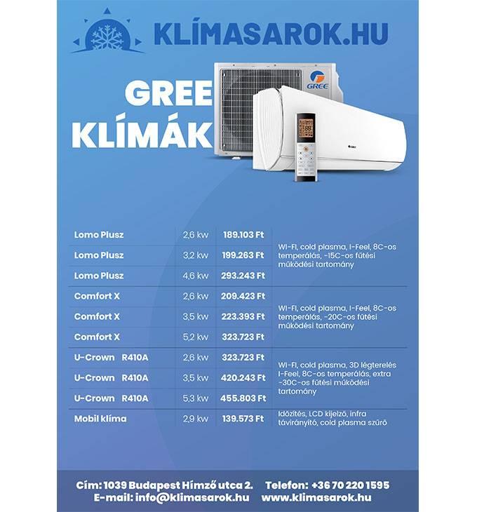 Klimasarok.hu - A3 és A4 méretű termékbemutató szórólap tervezése
