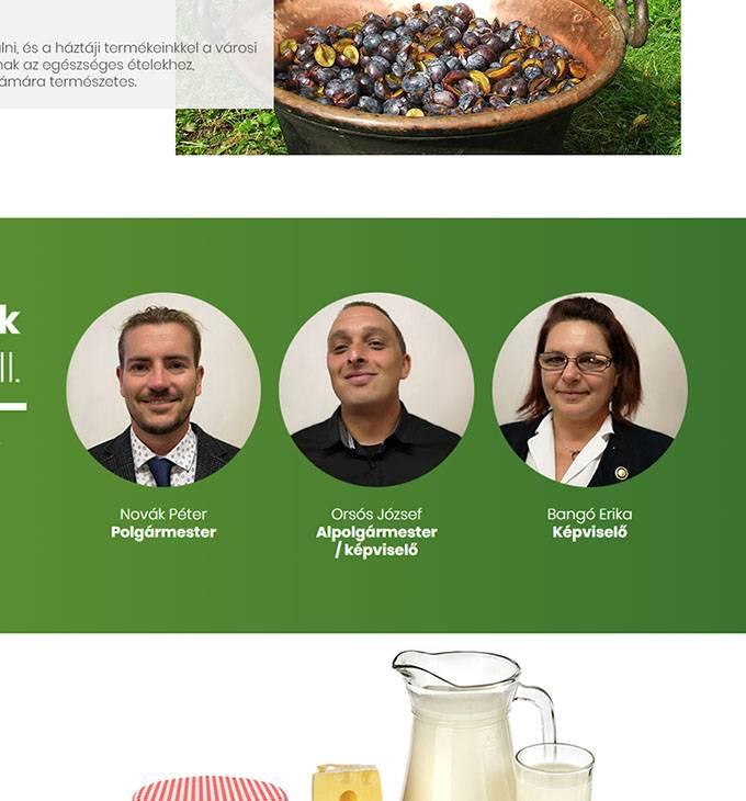 Kovacsszenaja.hu - Kovácsszénája település - reszponzív honlapkészítés