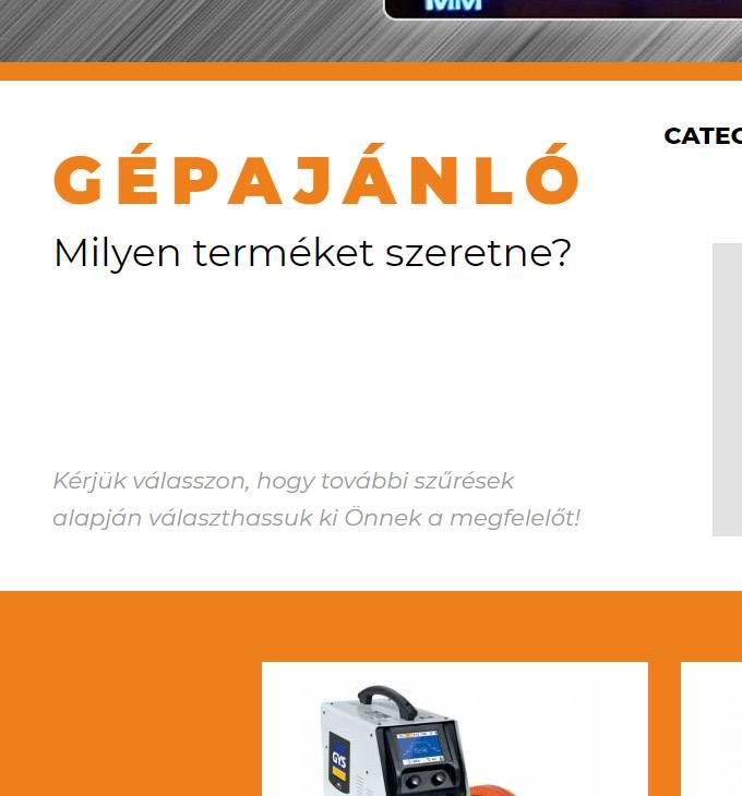 Mastroweld.hu - Mastroweld termékek áruháza - reszponzív webáruház készítés
