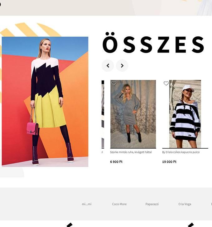 Mystylefashion.hu - divatos ruhakollekciók - Reszponzív webáruház készítés