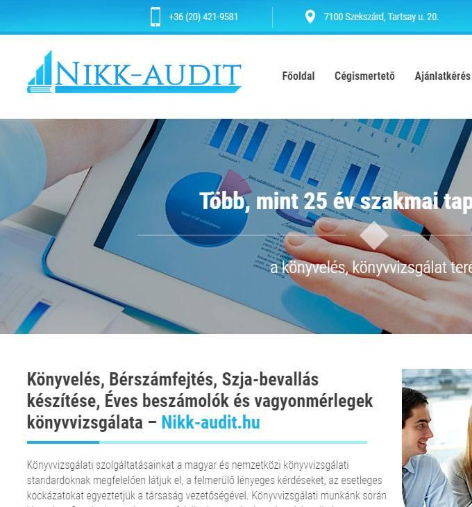 NIKK-Audit logó készítés