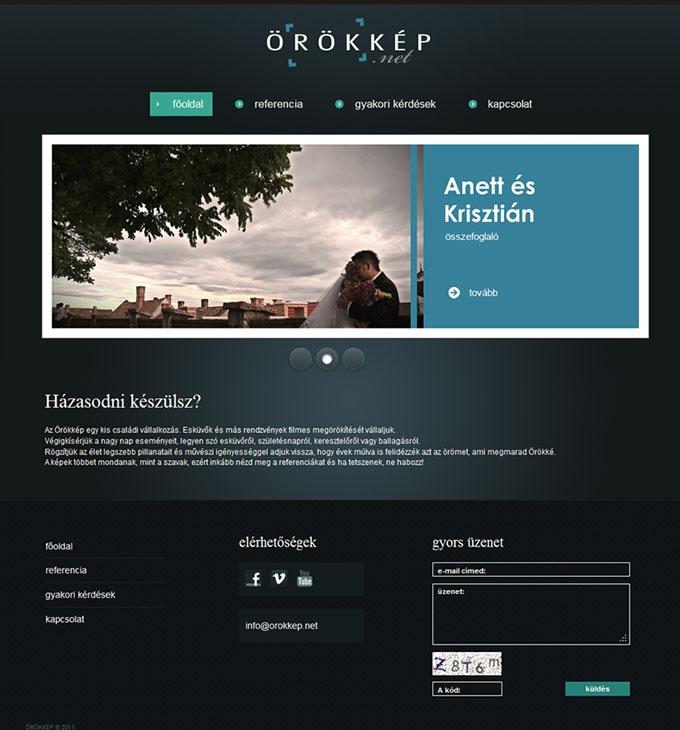 Örökkép.net webprogramozás