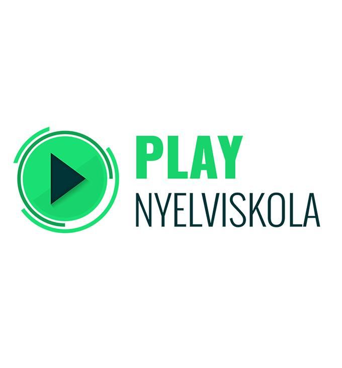 Playnyelviskola.hu logó készítés